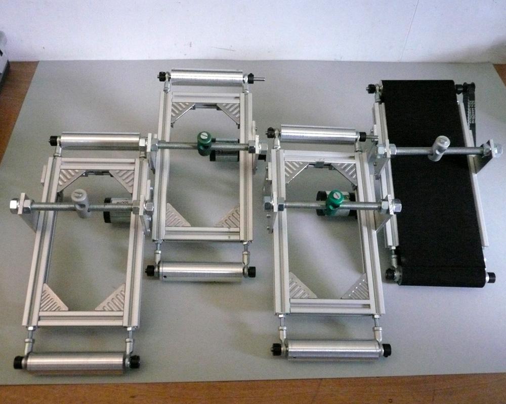 how to make a conveyor belt arduino